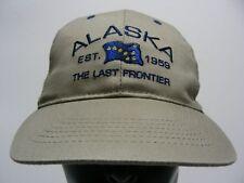 ALASKA - THE LAST FRONTIER - EST. 1959 - ADJUSTABLE SNAPBACK BALL CAP HAT!