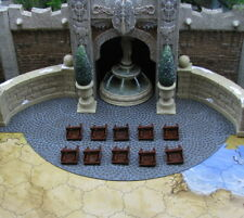 10 Ladders Heroscape Archkyrie Fortress Castle single rung ladder piece terrains