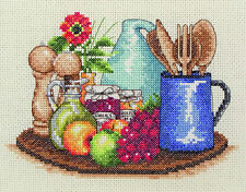 Anchor - Counted Cross Stitch Kit - Kitchen  - PCE758
