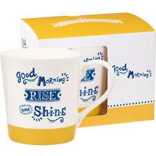 Chasing Rainbows Chestnut Mug Good Morning 300ml Mug in Gift Box
