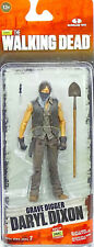 "GRAVEDIGGER DARYL DIXON 5"" /12cm ACTIONFIGUR THE WALKING DEAD McFARLANE TOYS"