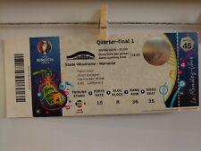 TICKET EURO 2016 Poland - Portugal