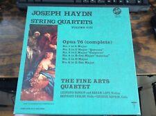 JOSEPH HAYDN - String Quartets, Vol. VIII  - 3pc Box Set VOX  LP- Exc Cond