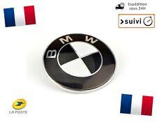 Logo BMW Coffre Capot Série 1 3 5 7 E39 E46 E90 E60 E92 X3 X5 X6 M3 M5 M6 Noir