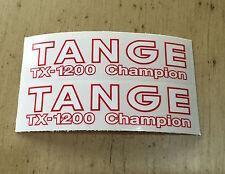 TANGE TX-1200 Champion FORK DECALS, pair