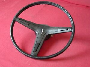 1969 70 71 72 73 74 Pontiac Black Steering Wheel Firebird GTO Trans Am #9749802