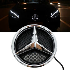 Car Motors Led Grille Star Emblem Drl Light For Mercedes Benz E 13-15 Twist Type (Fits: Mercedes-Benz)