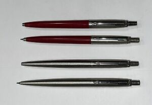 VINTAGE PARKER JOTTER BALL POINT PEN & MECHANICAL PENCIL LOT
