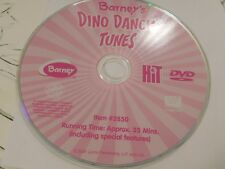 Barney - Barneys Dino Dancing Tunes (DVD, 2004)Disc Only Free Shipping