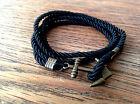 VIELE FARBEN Anker Armband Gewickelt ANCHOR Surfer Bracelet Blogger Geschenk NEU
