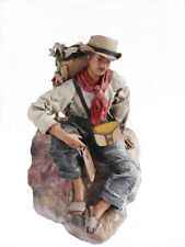 "NEW Achalay Creaciones  Colombian Figurine Antioquia Silletero (Lavandera) 8"""""