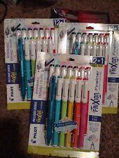 3 Pilot Frixion Fineliner Marker Pen Erasable Ink Pack Of 121 Colors
