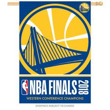 2018 Western Conference Champion NBA Finals 28x40 Banner Golden State Warriors