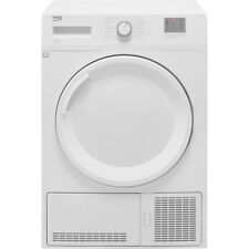 Beko DTGC8001RW B Rated 8Kg Condenser Tumble Dryer White
