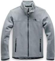 The North Face Women's TKA Glacier Full Zip Jacket - Mid Grey/Mid Grey A48KJCTE