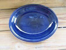 """Fiestaware~Cobalt~11½"""" Serving Platter~Oblong"""