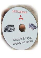 SEAL + CD Manual FIXES Mitsubishi PAJERO DIESEL  Fuel PUMP 2.8 & 2.5 & DELICA