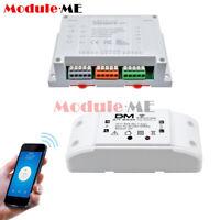 1/4 Channel Sonoff 1/4CH Wireless WiFi Smart Home Switch Module Remote Control