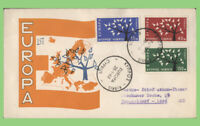 Cyprus 1963 Europa set on Official First Day Cover
