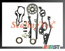 Fit 85-95 Toyota 22R 22RE Timing Chain Kit w/ STEEL GUIDE 2.4 engine motor 22REC