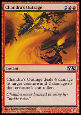 MTG 4x CHANDRA's OUTRAGE - SDEGNO DI CHANDRA - M12