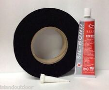 Black Nomex Lavalock® Gasket w/ Rtv adhesive - Fits all Traeger & Gmg Grills