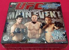 2010 Topps UFC Main Event HOBBY Box (5) Autograph or Relic Hits 24-Pack/8-Card