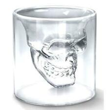 Crystal Skull Head Whiskey Vodka Shot Glass Cup Drinking Ware: Home Bar, Party