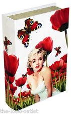 Marilyn Monroe Caja de almacenamiento que se parece a un libro! un Gran Regalo!