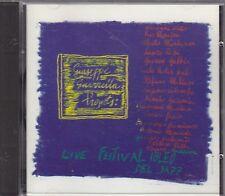GIUSEPPE GUARRELLA PROJECTS - live festival ibleo... CD