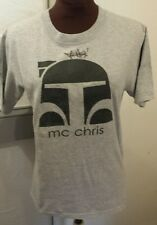 Mc Chris Autographed Concert T Shirt Mens S Small Grey Signed at Orlando Show