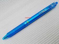 2 x Pilot FriXion Ball Knock Clicker 0.7mm Erasable Rollerball Pen, Light Blue