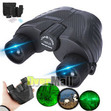 10x25 Zoom with Night Vision Outdoor Travel Binoculars Hunting Telescope+Case