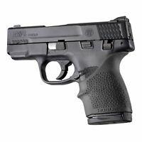 Hogue HandAll Bvrtail Grip Sleeve SW MP Shield 45 Kahr Black 18300