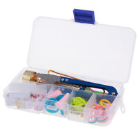 1 Set Knitting Tools Crochet Needle Hook Accessories Weave w/Case Box Yarn  Zw
