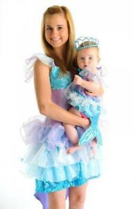 NEW Fairy Girls Sparkle Mermaid Dress Up - Baby - Suits 0-6 months
