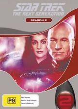 Star Trek Next Generation : Season 2 (DVD, 2006, 7-Disc Set) Region 4