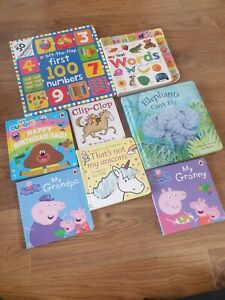 Board Book Bundle VGC Hey Duggee Peppa Pig