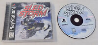 PlayStation Sled Storm Video Game with Case Play Station