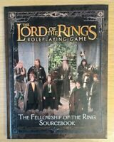 THE FELLOWSHIP OF THE RING SOURCEBOOK - LORD OF THE RINGS ROLEPLAYING GAME RPG