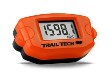 Trail Tech 743-A00 TTO Tach Hour meter RPM and Clock, Orange ideal for KTM