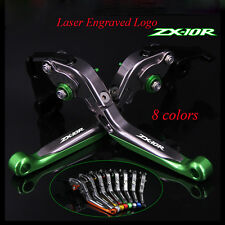 Adjustable Folding Extending Brake Clutch Levers For KAWASAKI ZX10R 2016-2017