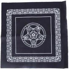 Genuine Altar Cloth - Pentacle Altar Tarot Table Cloth/Wiccan/Pagan