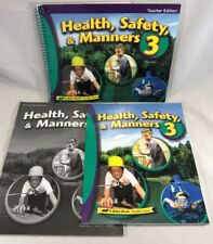 Abeka 3rd Grade Health Safety Manners 3 Student Book Teacher Edition Bundle Set
