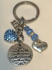 Something Old Something New Something Borrowed Blue Bride Lucky Keepsake Gift