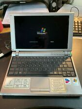 Vintage Sony VAIO VGN-T2XP/S Laptop Computer, working on Windows XP