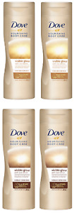 2 x Dove Nourishing Body Care Visible Glow Self-Tan Lotion (2 x 250ml)