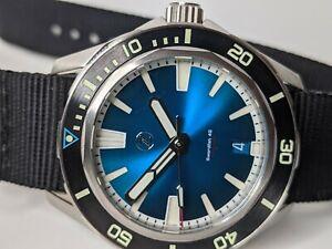 Zelos Swordfish Teal Men's Watch 40mm Automatic