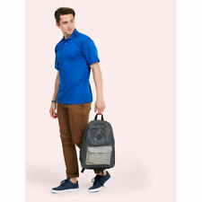 Unisex Processable Poloshirt Pique Knit Breathable Smart Work Wear Casual Tshirt