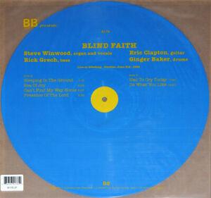 Blind Faith – Live In Goteborg, Sweden, June 3rd, 1969 Blue Vinyl LP NEW/SEALED